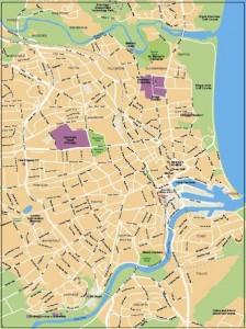 Aberdeen Vector Map