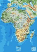 Africa_continent vector map
