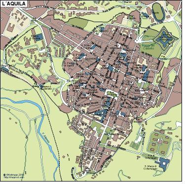 Aquila Vector Map