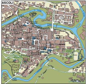 Ascoli Vector Map