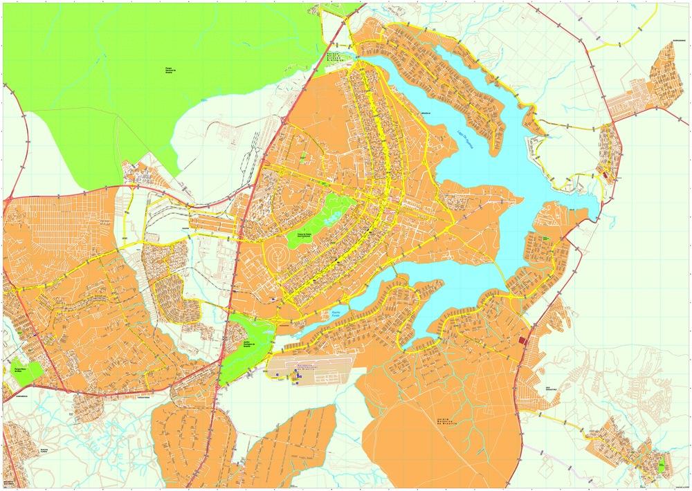 Brasilia map