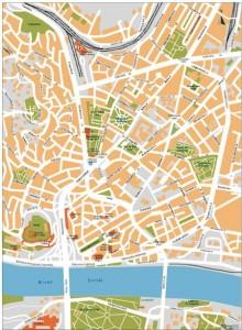 bratislava vector map