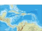 Central_america_topographic vector map