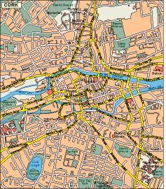 Cork vector map