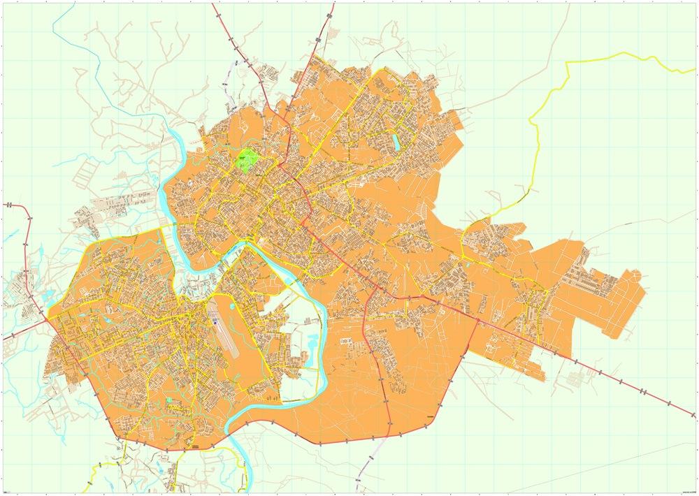Cuiaba map