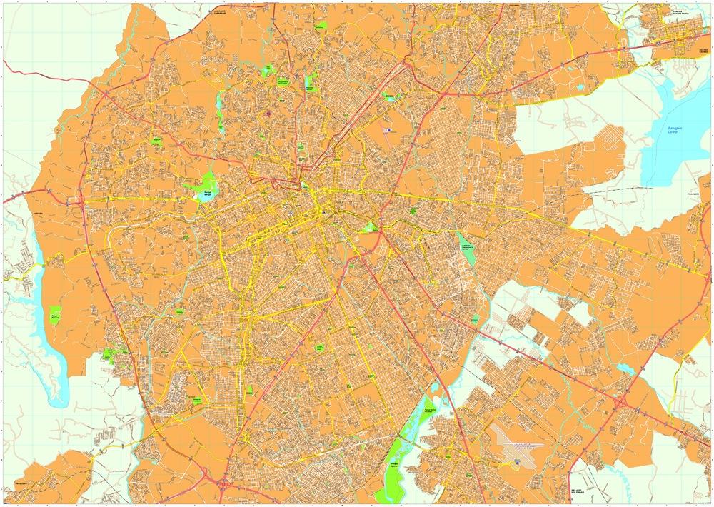 Curitiba map