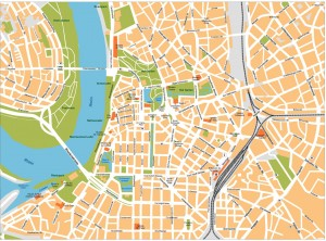 Dusseldorf Map