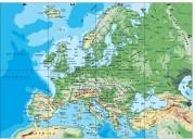 Europa_continente vector map
