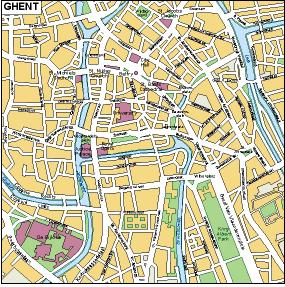 ghent vector map
