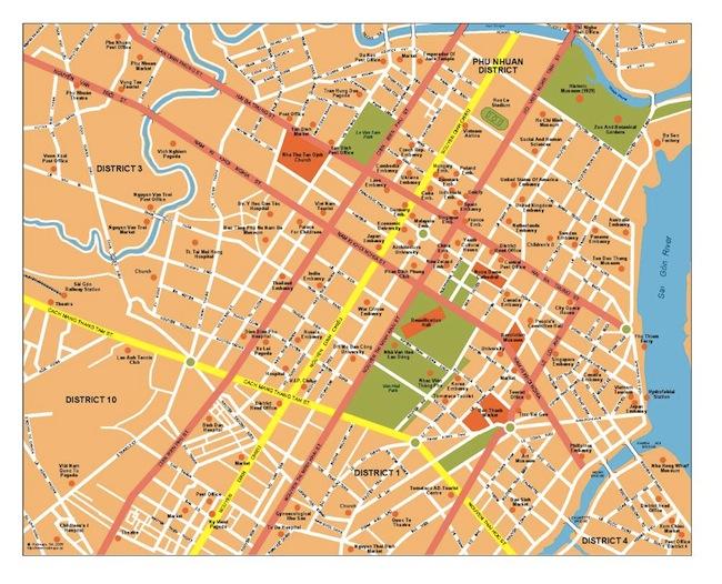 Ho Chi Minh Map