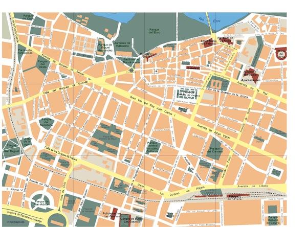 Logrono map