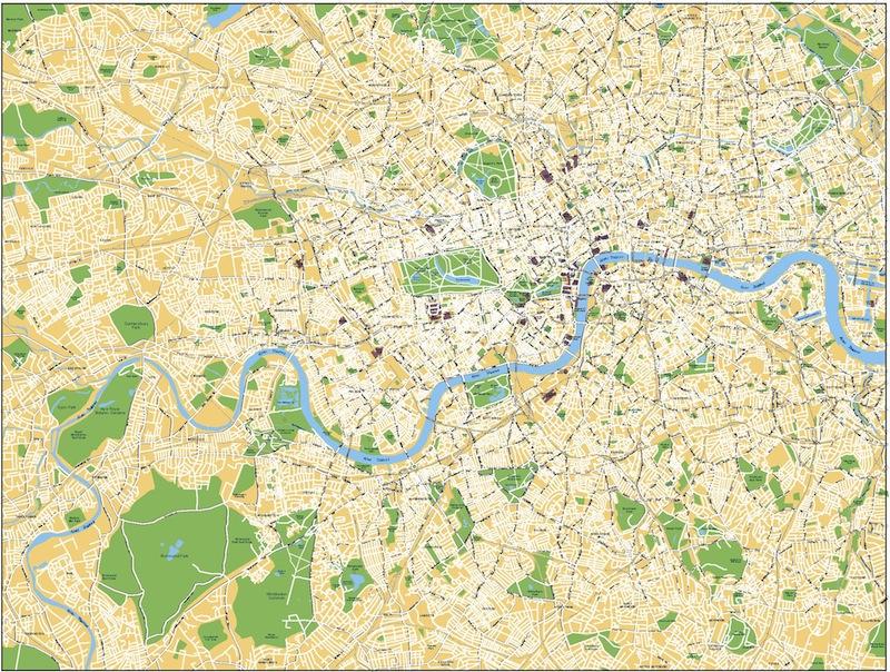 London Olympic Area
