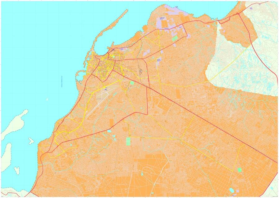 Luanda maps