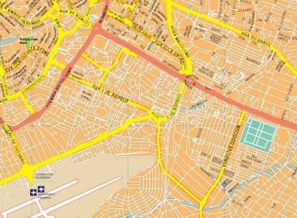 Luanda maps area