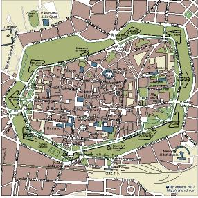 Lucca Vector Map