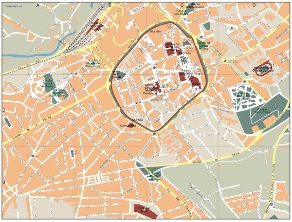 Lugo map