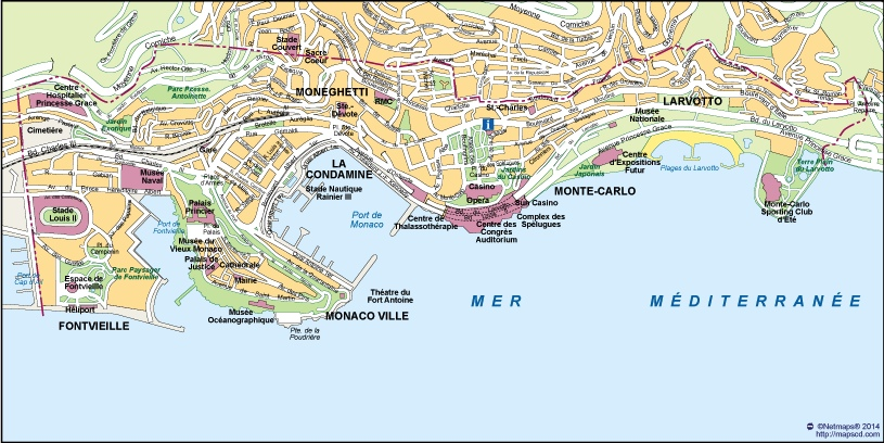 Download Monaco Vector Map as digital file Purchase online our Eps