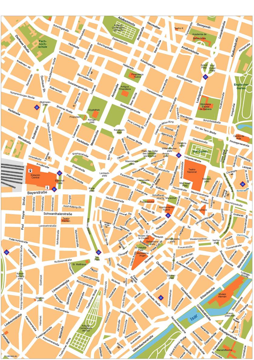 Munchen Map