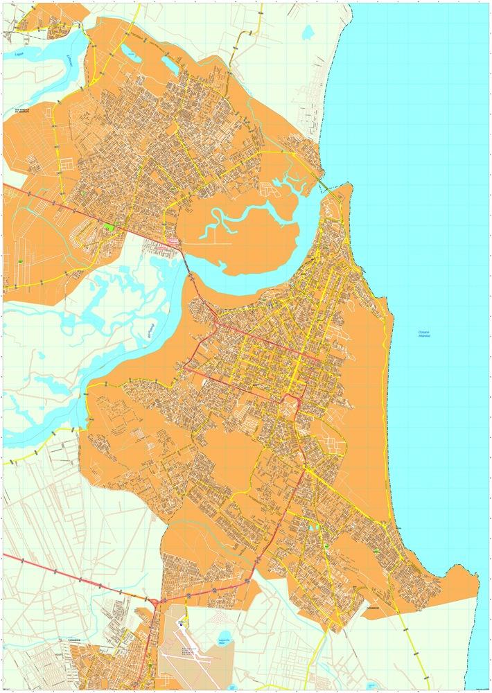 Natal map
