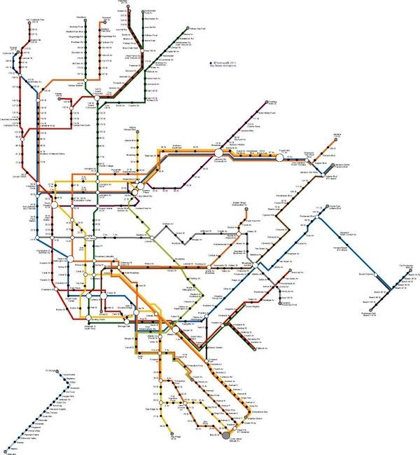 New York metro network
