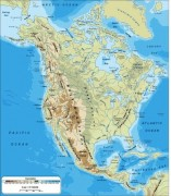 North_America- vector map
