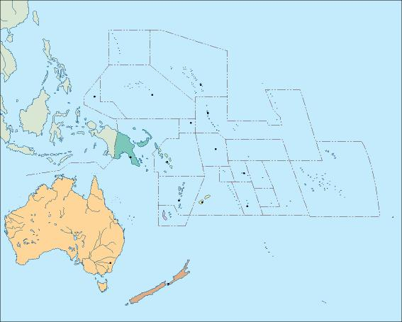 Download Oceania Vector Maps As Digital File Purchase Online Our - Political map of oceania