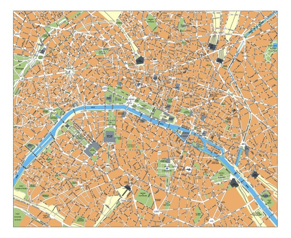Paris eps map