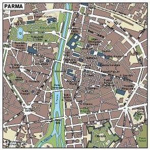 Parma Vector Map