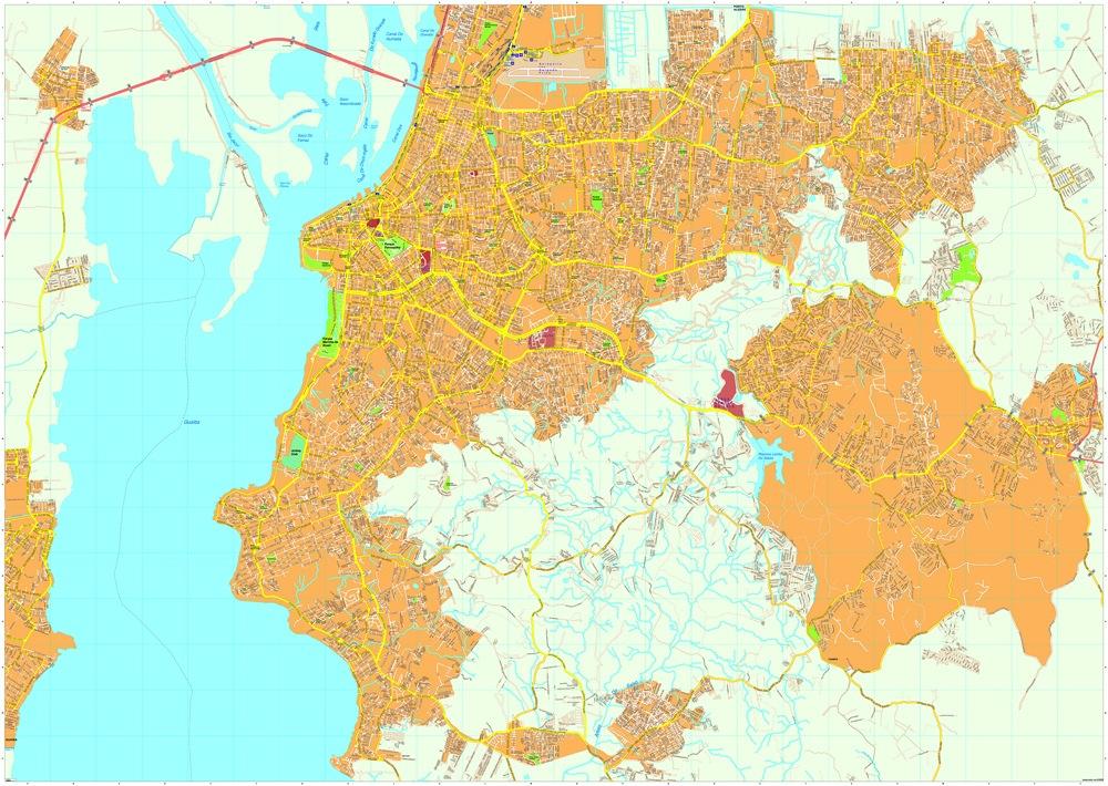 Porto Alegre map