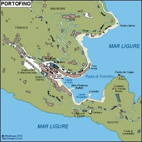 Portofino Vector Map