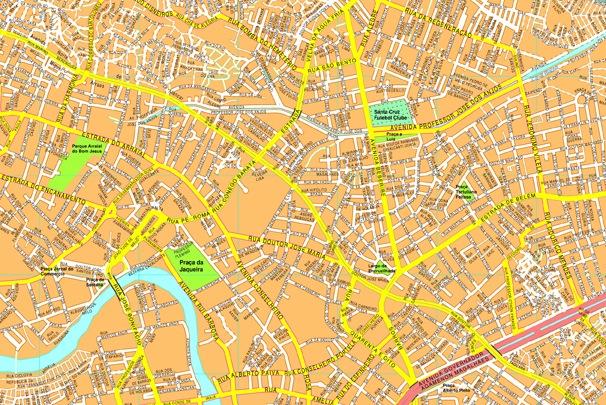 Recife streetmap