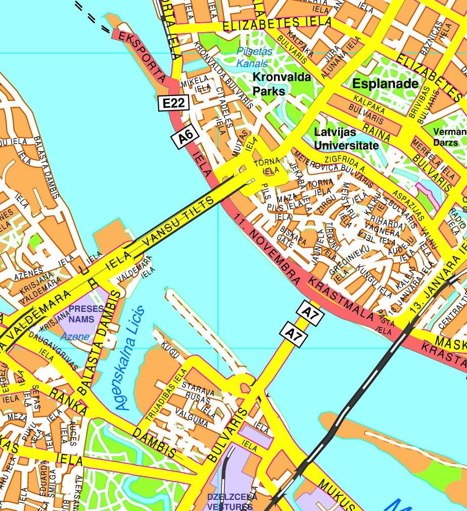 Riga StreetMap