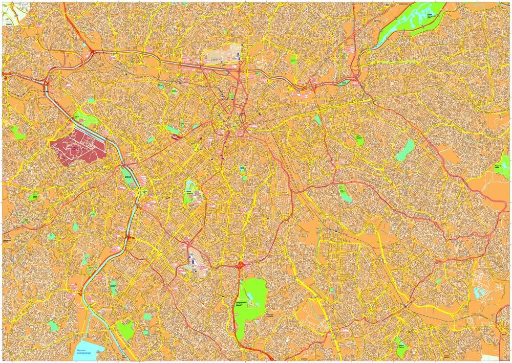 Sao Paulo map