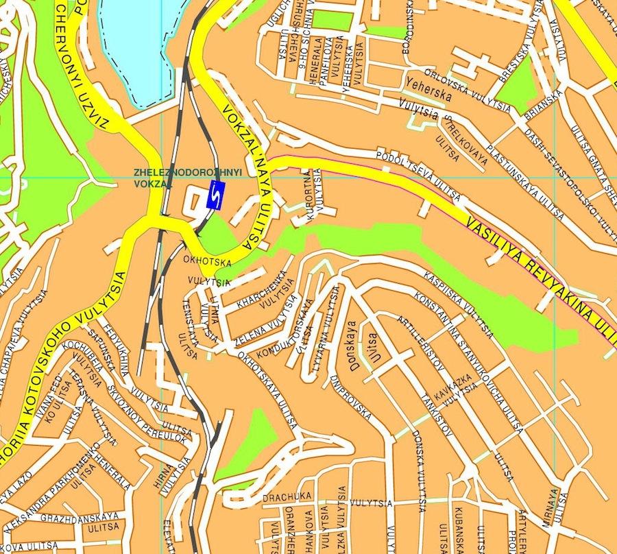 Sebastopol illustrator map