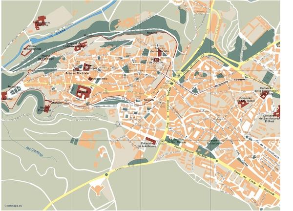Segovia map