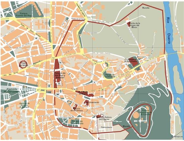 Soria map