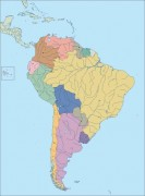 South_america_political vector map