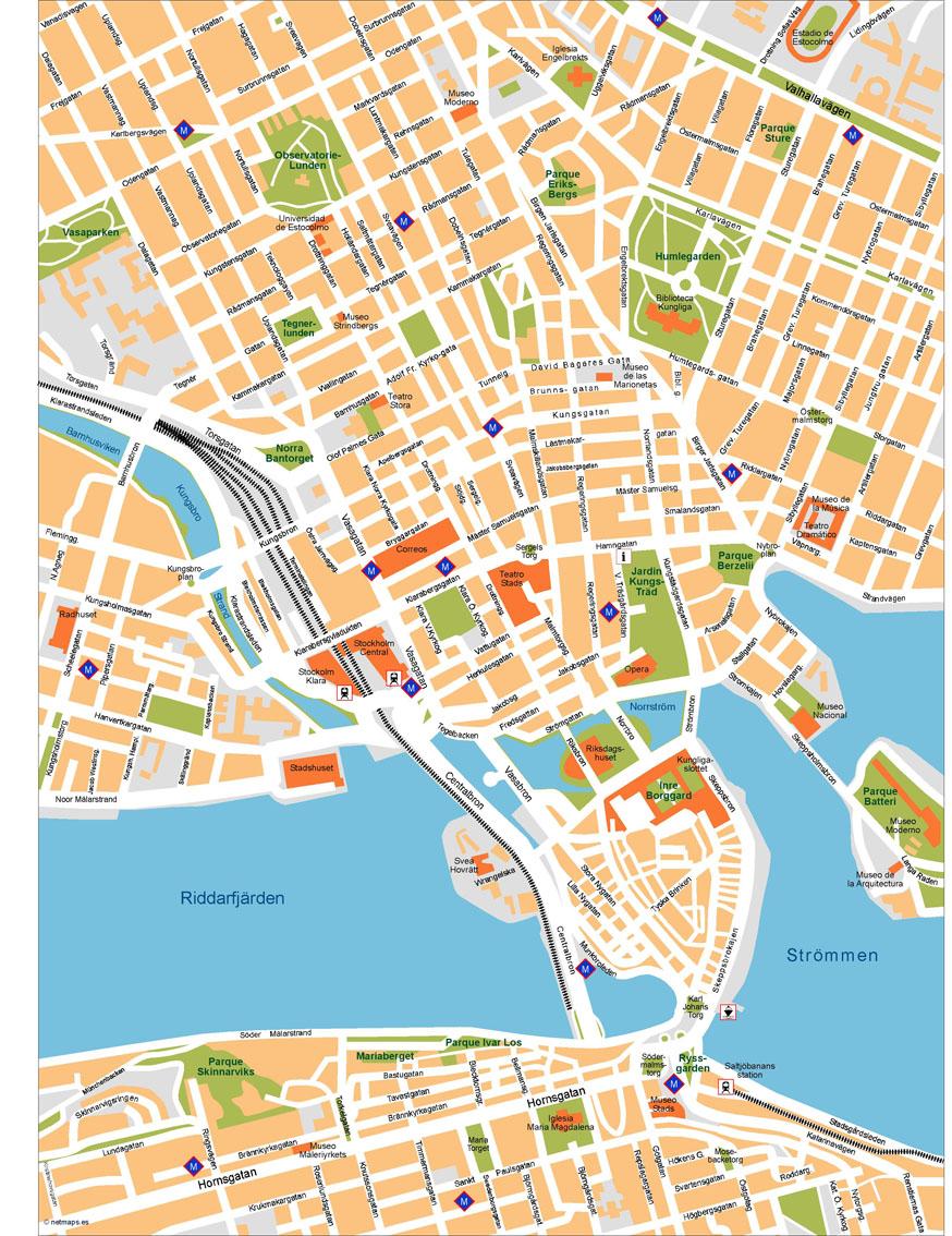 Stockholm Map