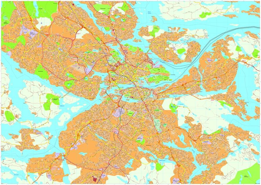 Stockholm maps
