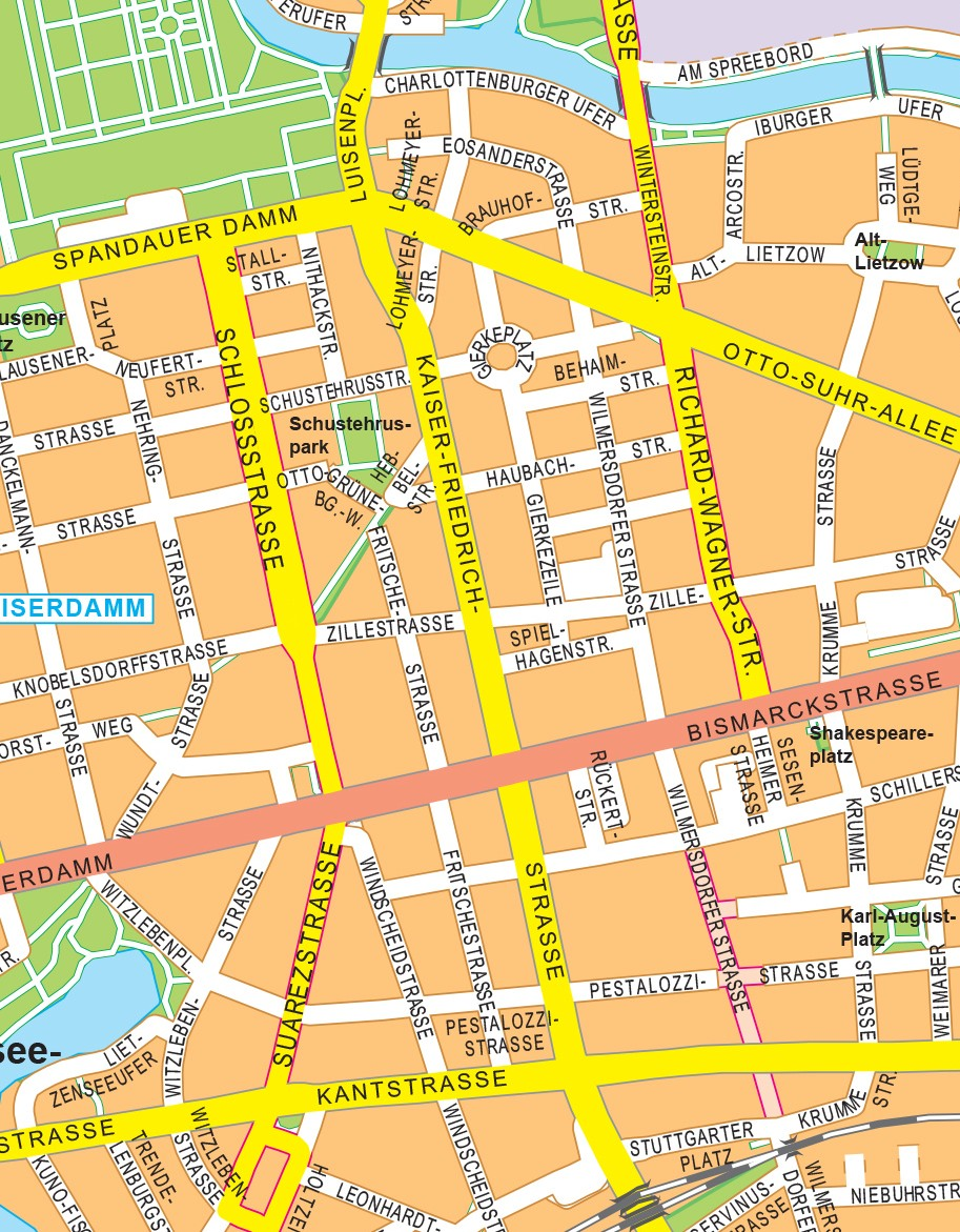 StreetMap Berlin