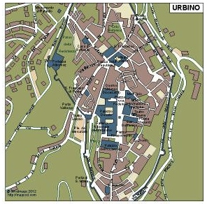 Urbino Vector Map