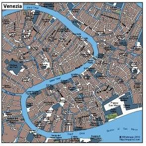 Venezia Vector Map