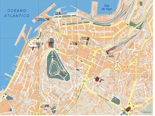 Vigo map