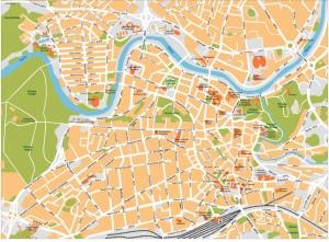 Vilnius Map