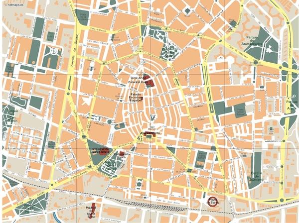 Vitoria map
