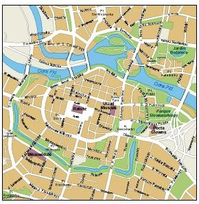 Download Wroclaw Vector Maps Illustrator eps maps as digital file