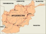 afghanistan_countrymap vector map