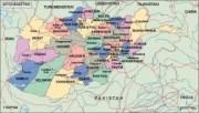 afghanistan_political vector map