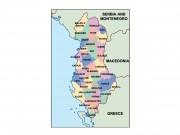 albania powerpoint map