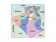 algeria powerpoint map